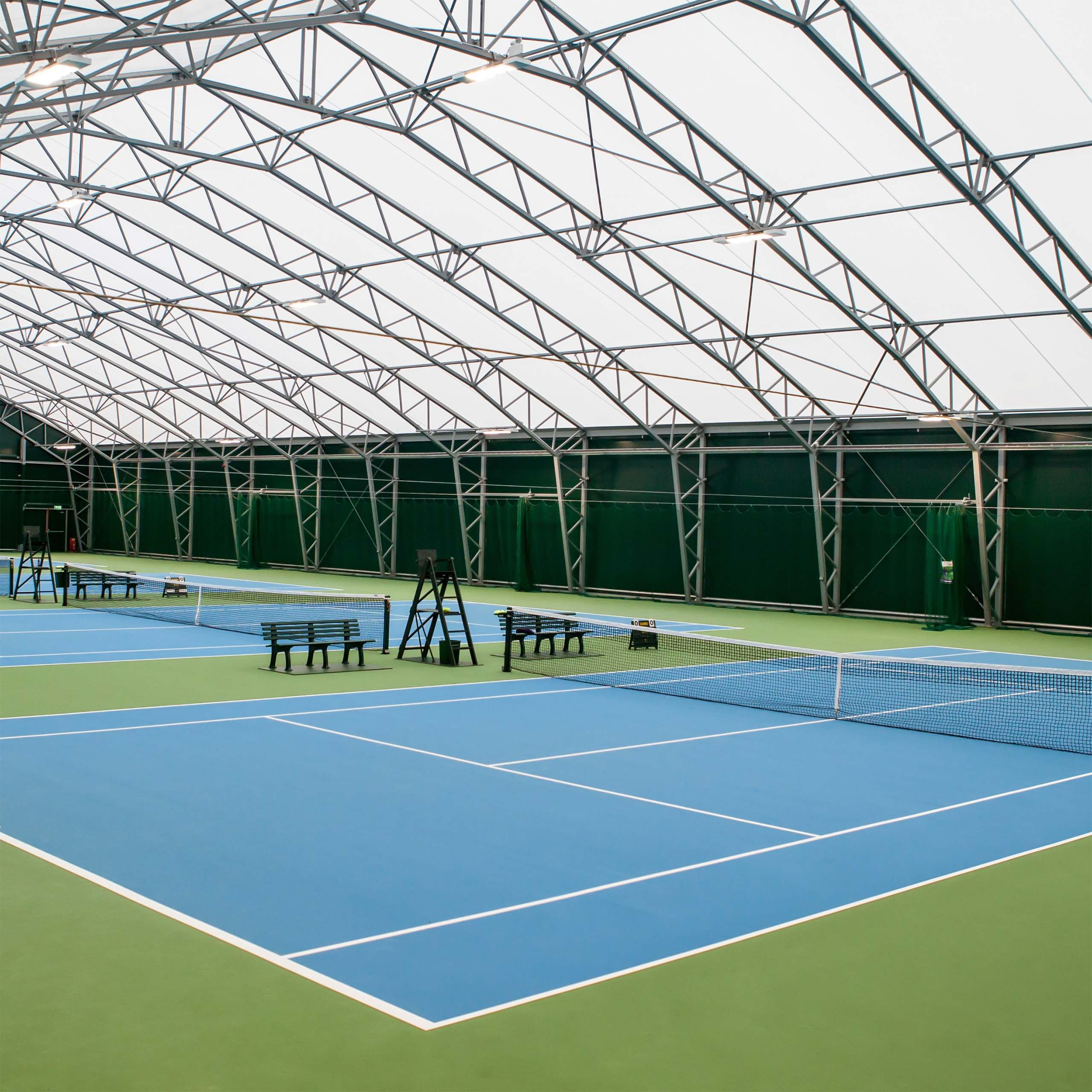Vermont Tennis Court - Nets & Posts #2