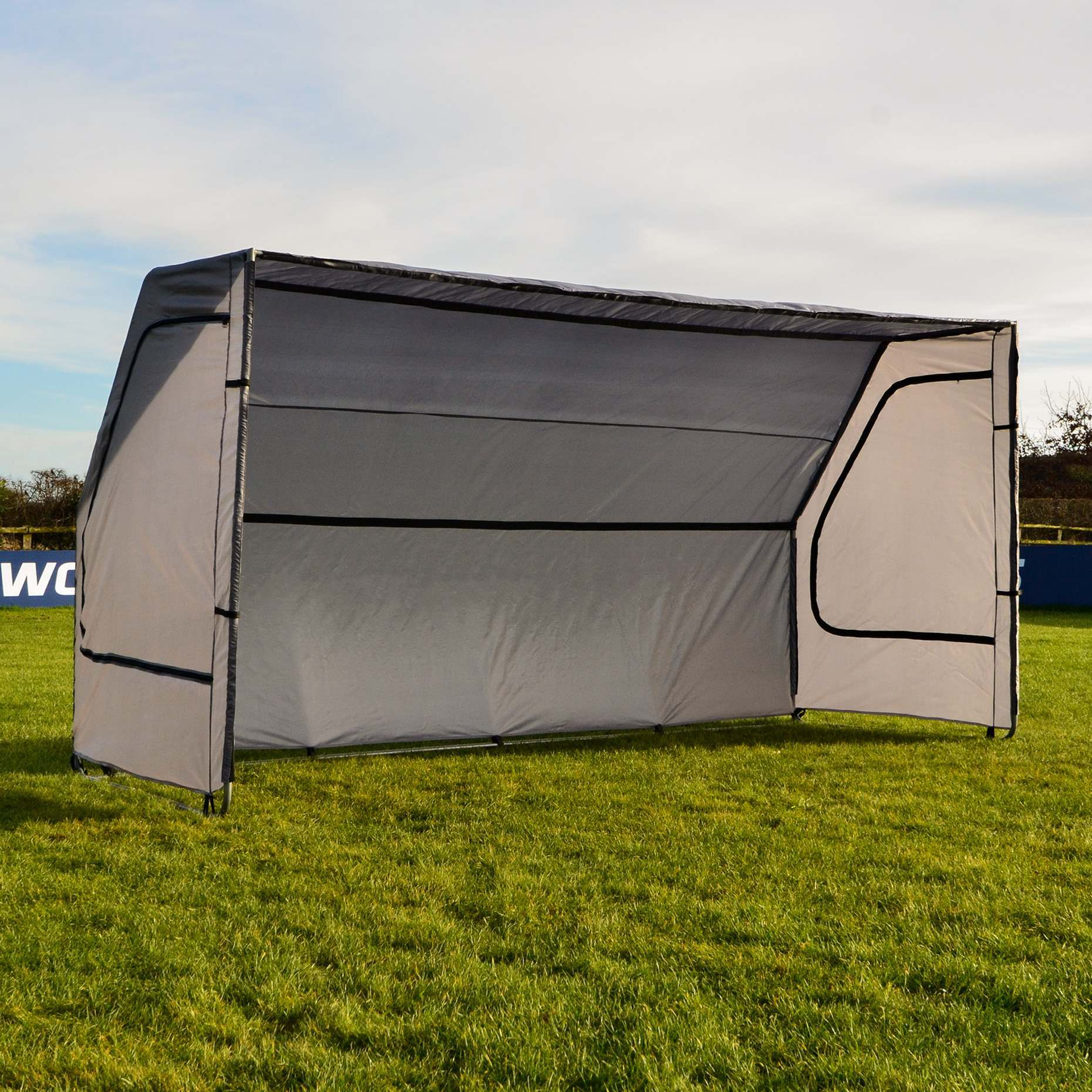 Portable Sports Team Bench Portable Soccer Squad Shelter